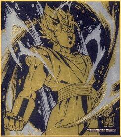 ドラゴンボール 色紙ART11 レア 超サイヤ人 ベジット 金色+銀色のW箔押し仕様 単品 色紙 DRAGON BALL《ポスト投函 配送可》