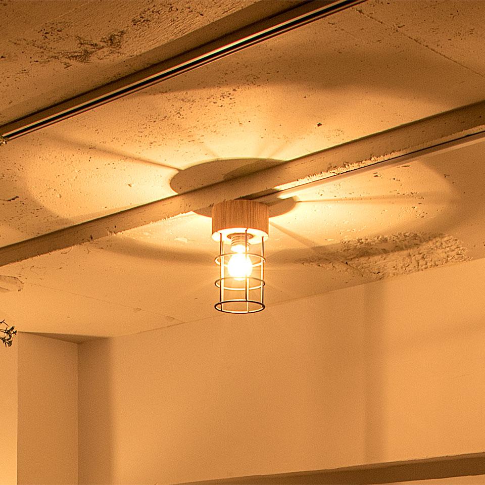 シーリングライト 1灯 LUKE(ルーク) おしゃれ 照明 電気 ライト スポットライト 間接照明 西海岸 カリフォルニア 北欧 インダストリアル 男前 ブルックリン ダイニング