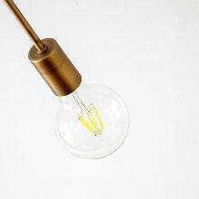 【LED電球セットシーリングライト5灯CISCO(シスコ)おしゃれお洒落照明天井照明LED電球付電気間接照明西海岸カリフォルニアブルックリン男前ナチュラル北欧テイストカントリーミッドセンチュリーシンプルリビングダイニング】