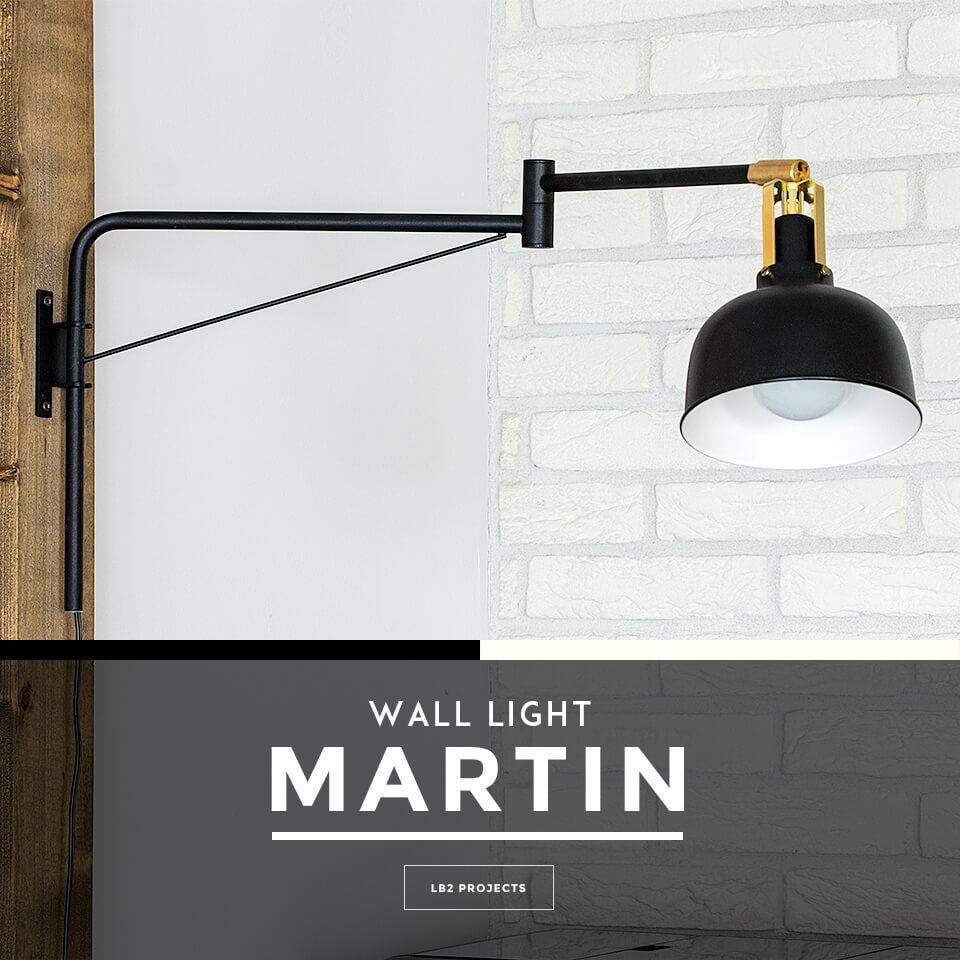 ウォールライト 1灯 MARTIN(マーチン) おしゃれ 照明 電気 ライト スタンド 間接照明 北欧 カフェ風 西海岸 かわいい スポットライト ブラケットライト ダイニング