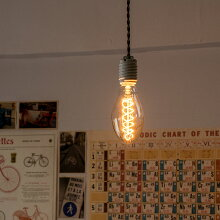 ヴィンテージランプカーボン電球エジソン電球裸電球E26/40ワットレトロヴィンテージカフェバーレストラン【E75】
