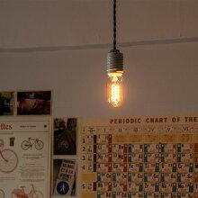 ヴィンテージランプカーボン電球エジソン電球裸電球E26/40ワットレトロヴィンテージカフェバーレストラン【T45】