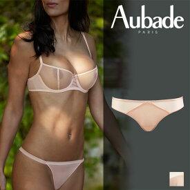 フランス【Aubade】オーバドゥNUDESSENCE(ヌードエッセンス)ブラジリアンショーツ Nude Eteカラー(FM22)
