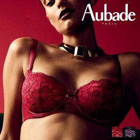 QA モールドハーフカップブラ ABCDEFカップ ROUGE AMOURカラー(QA04) Aube Amoureuse