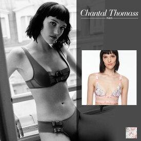 【30%オフ】【ChantalThomass】シャンタルトーマスAudacieuseトライアングルブラ Paris Printsカラー(T05030)