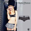 【60%OFF】フランス【ChantalThomass】シャンタルトーマスPunkette(パンケット)Black/White Tartan(チェック)ボクサー