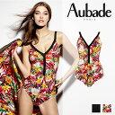 大人気スイムウエア新作!フランス【Aubade】オーバドゥSummer Lounge(サマーラウンジ)ワンピース Exoticカラー(ES67)