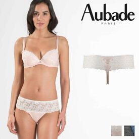 【30%オフ】【Aubade】オーバドゥMJ FEMME Charmeuse ホットタンガ Rose Dustカラー(MJ71)