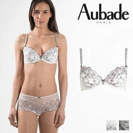 【50%オフ】【Aubade】オーバドゥFemme Romantique(フェム ロモティク)モールドパデッドブラ(MB08-N)Prim Roseカラー