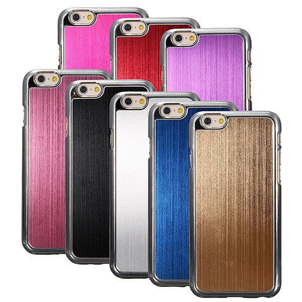 iPhone6 ケース ハードケース アルミケース アルミ削り出し クロームハードケース シンプル ビジネス 無地