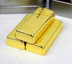 USBメモリー フラッシュメモリー 8GB 2.0 GOLD ゴールド 金塊 金の延べ棒 シックタイプ キラキラゴージャス おもしろUSB