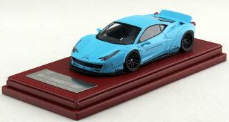 压铸汽车模型压铸玩具汽车 1 / 43 自由步行 (自由步行) 磅作品 458 (458 LB 作品) 超级车法拉利蓝色 05P04Jul15