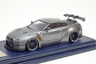 树脂铸微型车树脂铸造汽车模型 1 / 43 自由步行 (自由步行) 磅作品 R35 燃气轮机-r (R35 燃气轮机-r 的作品磅) 汽车模型青铜色的超级跑车 10P05Sep15
