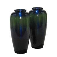 仏壇用花瓶|宮内型コスモブルー