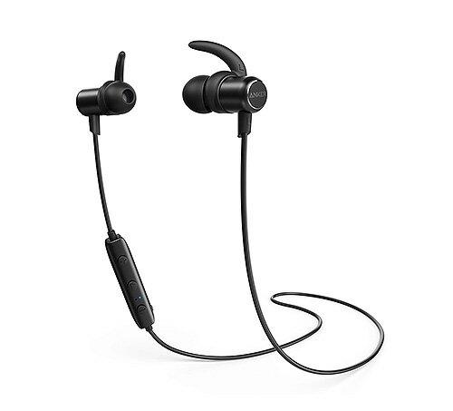 Anker SoundBuds Slim Bluetoothイヤホン(カナル型)【マグネット機能 / 防水規格IPX4 / 内蔵マイク搭載 / 高音質】 iPhone、Android各種対応 ワイヤレスイヤホン