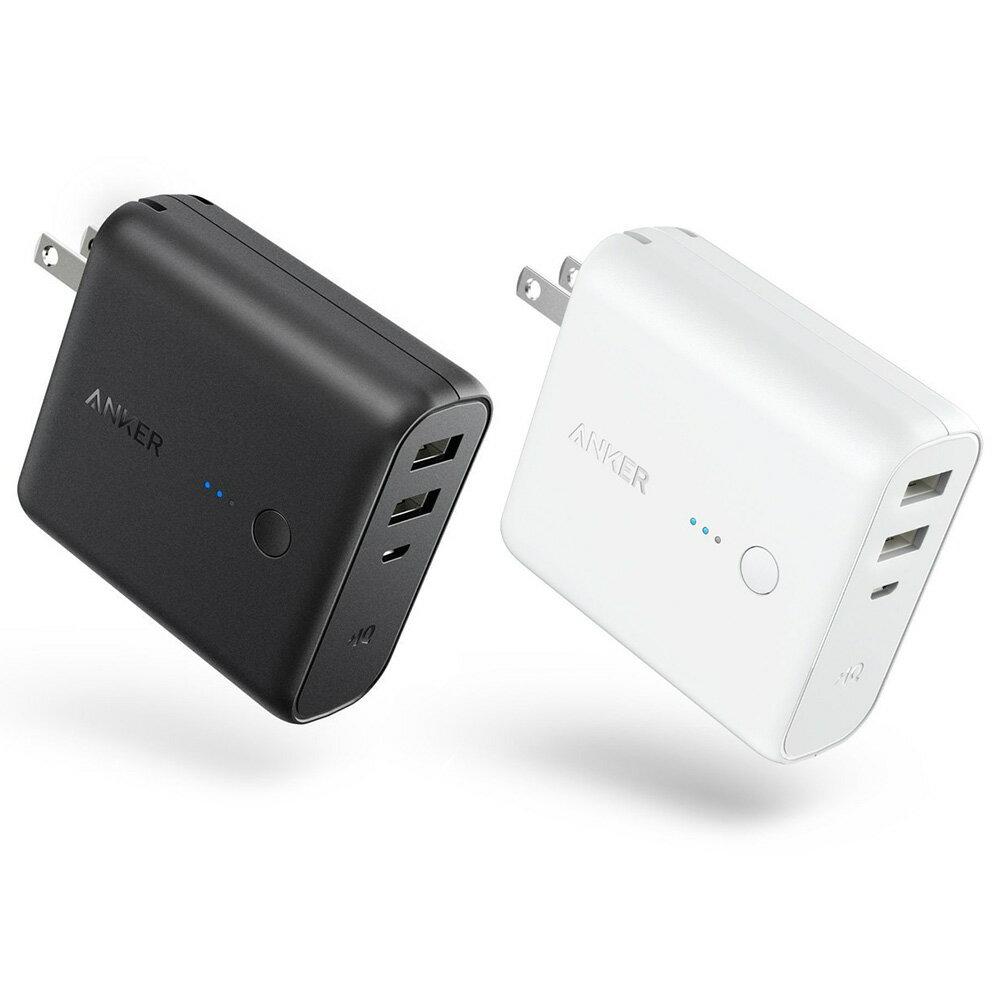 Anker PowerCore Fusion 5000 (5000mAh モバイルバッテリー USB急速充電器)iPhone / iPad / Xperia / Android他スマホ対応【急速充電技術PowerIQ搭載 / 折畳式プラグ搭載 / PSE認証済】 3A出力