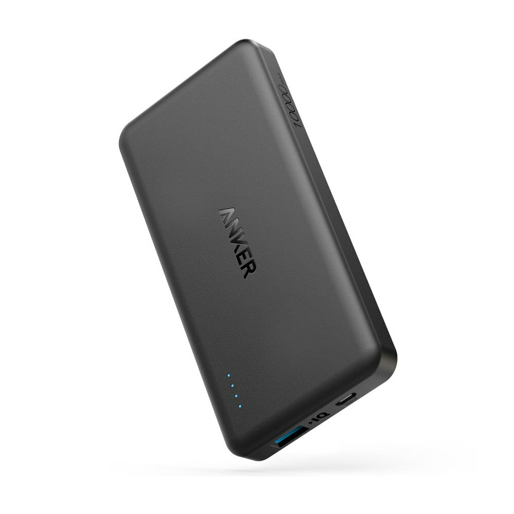 Anker PowerCore II Slim 10000 軽量 大容量(急速充電技術Quick Charge & Power IQ 2.0搭載 スリム コンパクト 薄型 モバイルバッテリー) iPhone / iPad / Xperia / Android各種スマホ対応 充電器 3A出力