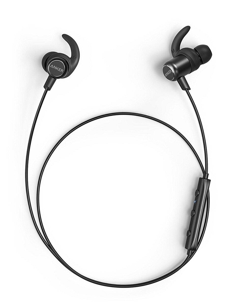 Anker SoundBuds Slim+ Bluetoothイヤホン カナル型【aptX対応 / マイク内蔵 / IPX5防水規格】iPhone、Android各種対応