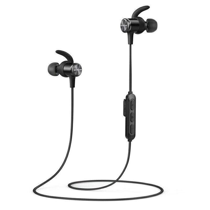 Anker Soundcore Spirit Bluetoothイヤホン カナル型【SweatGuardテクノロジー/8時間連続再生/IPX7防水規格/運動中もしっかりフィット】