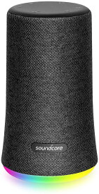 Anker Soundcore Flare Mini Bluetooth スピーカー 防水 高音質 重低音 360°サウンド 10W出力 大音量 ステレオペアリング IPX7
