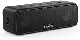 Anker Soundcore 3 Bluetooth スピーカー イコライザー設定 チタニウムドライバー BassUpテクノロジー PartyCast機能 IPX7 防水規格 24時間連続再生 USB-C接続