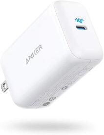 Anker PowerPort III 65W Pod (PD 充電器 USB-C) 【PPS規格対応/PD対応/PowerIQ 3.0 (Gen2) 搭載/PSE認証済/折りたたみ式プラグ】MacBook Pro MacBook Air iPad Pro iPhone Galaxy Android各種 その他USB-C機器対応