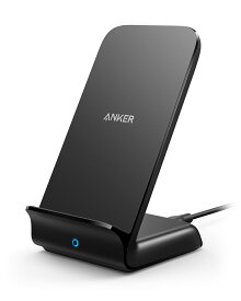 Anker PowerWave 7.5 Stand, Qi認証 ワイヤレス充電器 iPhone 8 / 8Plus / X / XR / XS / XS Max / Samsung Galaxy / LG 対応 5W & 7.5W & 10W 出力