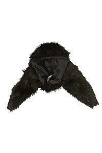 ankoROCKアンコロック帽子メンズレディースユニセックスハットボウシぼうしブラックファーショートファーフライトライクハットブラック黒