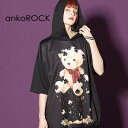ankoROCK アンコロック ビッグ Tシャツ メンズ カットソー レディース ワンピース ユニセックス 服 ブランド 半袖 大…