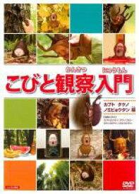 【中古】DVD▼こびと観察入門 カブト タケノ ノミビョウタン編▽レンタル落ち