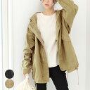 モッズコート レディース ファッション ドルマン 40代 30代 20代 アウター 体形カバー...