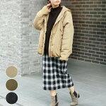 コートジャケットアウター中綿レディースファッションゆったり40代30代秋冬フードカジュアルシンプル大きめアンルル