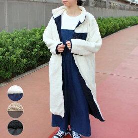 ボア ブルゾン 大きいサイズ レディース ファッション ジャケット アウター コート 裏地付き ゆったり ふわふわ もこもこ かわいい 20代 30代 40代 秋 冬