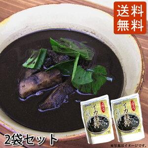 イカスミ汁(500g)2袋セット 送料無料 イカ墨汁 かつお風味 沖縄料理(常温)