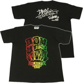 一双偷和双钢图形打印 t 恤! 大块配 t 恤黑色星期六销售!!