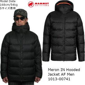 マムート MAMMUT ダウンジャケット メンズ アウター Meron IN Hooded Jacket AF Men 1013-00741 アウトドア トレッキング あす楽対応 送料無料(中国,四国,九州除く)