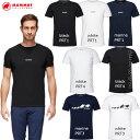 25%OFFセール マムート Tシャツ メンズ MAMMUT QD Logo Print T-Shirt AF Men 1017-02011 アウトドア トレッキング サイズS〜XL 2021春…