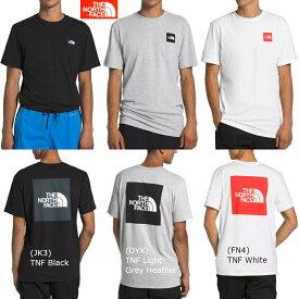 ザ ノースフェイス Tシャツ メンズ THE NORTH FACE ショートスリーブレッドボックスティー 日本未発売 USA企画 海外直輸入 NF0A4M4R S/S RED BOX TEE あす楽対応 送料無料(ネコポス便)