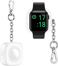 【 Apple認証 MFi認証 PSE認証 】Apple Watch専用充電器 アップルウォッチ 充電器 1000mAh 純正 iWatch ワイヤレス磁気充電器 スタンド Apple ウォッチ 充電スタンド AppleWatch モバイルバッテリー モバイルポータブルアップルウォッチ など #olt21SS