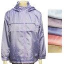 5色【ゆったり大きめ】フード付きウインドブレーカー♪サッと羽織れる軽量ジャケット♪