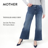 【MOTHER/マザー】カットオフウォッシュワイドデニムパンツTHEROLLERANKLECHWE2910600065