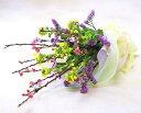 【ひな祭り】花 ギフト菜の花と桃の花束