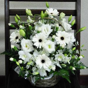 選べる御供えのお花3500コースホワイト