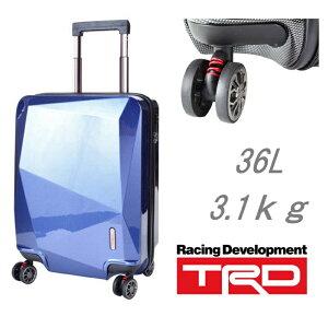 【送料無料】TRD キャリーカート ABS樹脂 TSA金具 機内持ち込み可能 スーツケース カート キャリー