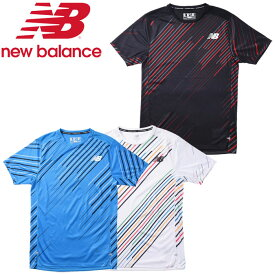 【ゆうパケット配送】 ニューバランス NB HANZO RACE ショートスリーブ Tシャツ AMT01200 メンズ