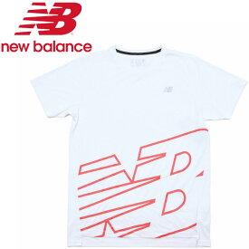 【ゆうパケット配送】 ニューバランス NBRC グラフィックショートスリーブ Tシャツ AMT93181-WHP メンズ