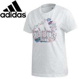 【クリアランスセール】 【ゆうパケット配送】 アディダス マストハブ BOS イラスト 半袖 Tシャツ GLR78-FJ5024 レディース