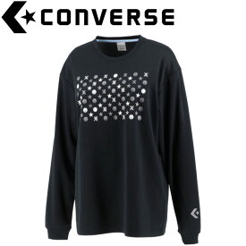 CONVERSE(コンバース) バスケット ウィメンズプリントロングスリーブシャツ CB302354L-1915