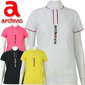 【クリアランスセール】 アルチビオ archivio ゴルフウェア 半袖 Tシャツ ポロシャツ プルオーバー A959325 レディース 2020年春夏