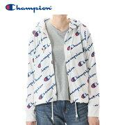 【クリアランスセール】チャンピオンフルジップフードシャツアクティブスタイルレディースCW-NS415-010
